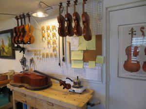 luthier workshop